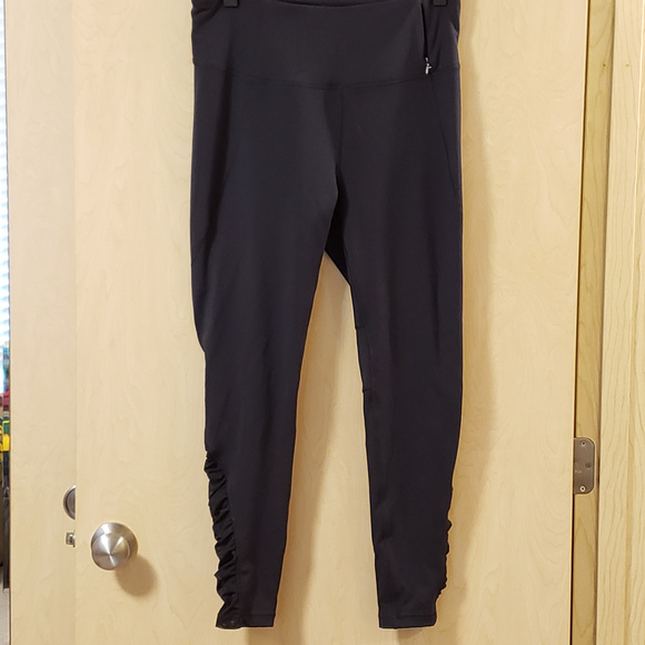 ce5888cd29 CALIA by Carrie Underwood Pants - CALIA Essential High Waist Ruched Leggings,  Large